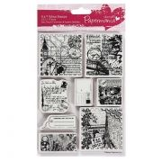 Гумени печати - Urban Stamps Bookprint - Around the world 2 - 8бр.