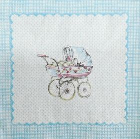 Салфетка FOR MY LITTLE BABY light Blue - 778749