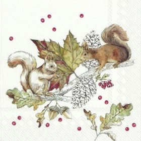 Салфетка Squirrels and berries 886100